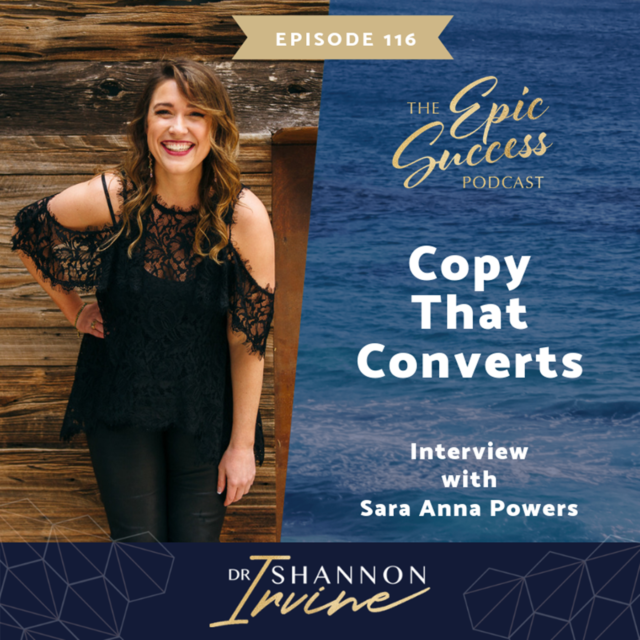 Copy That Converts with Sara Anna Powers